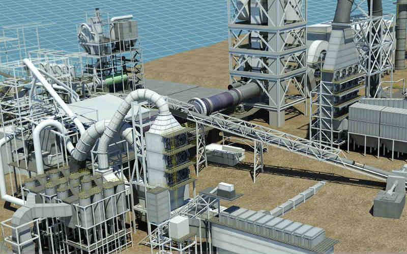 Flash Cement Plant In Cooler : Dangote starts operations at its new cement plant in