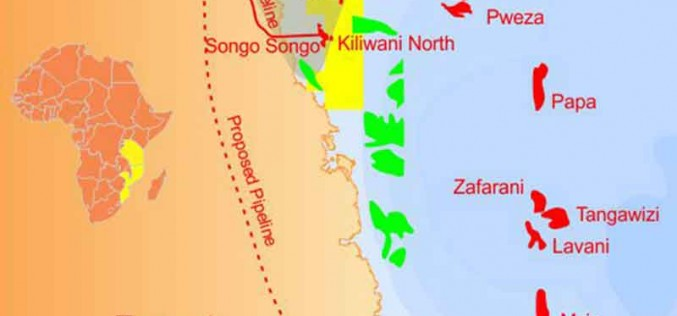 Tanzania Petroleum Development Corporation Signs Gas Sales Agreement For Delivery From Kiliwani North Offshore Field