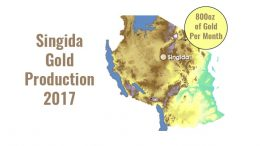 singida gold production 2017