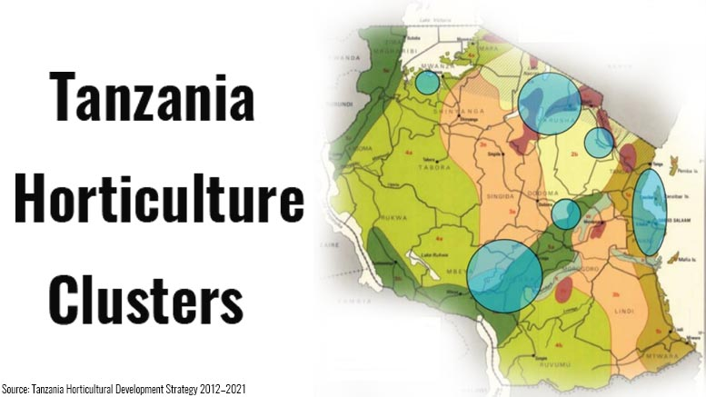 Tanzania Horticulture Clusters