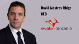 David Mestres Ridge CEO Swala Tanzania