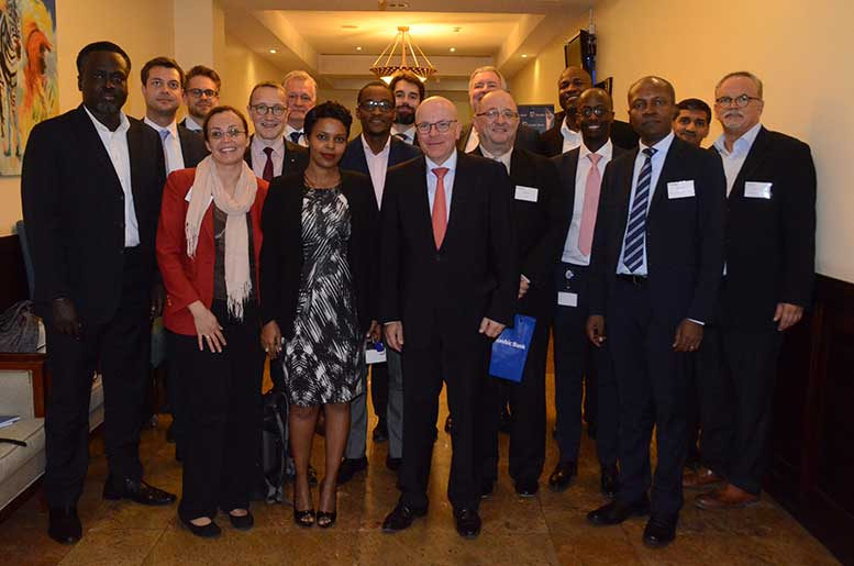 Stanbic Tanzania Germany delegation of investors