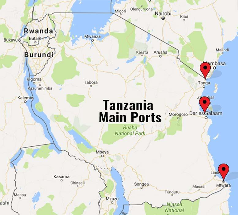Tanzania ports