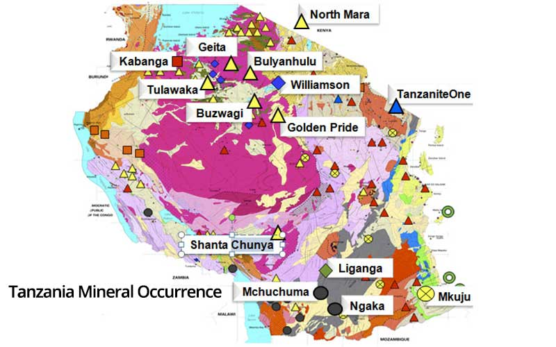 tanzania-mineral-occurrence