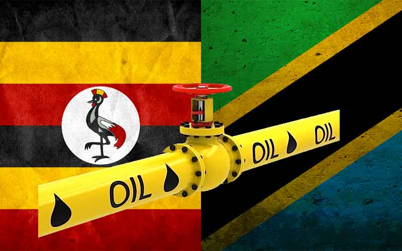 Uganda-Tanzania oil pipeline completion agreement 2020