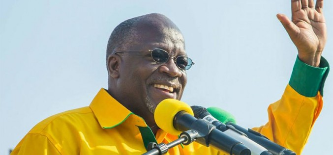 CCM Presidential Candidate Dr. John Magufuli Proclaimed New President of Tanzania: Gas Industry To Receive Boost