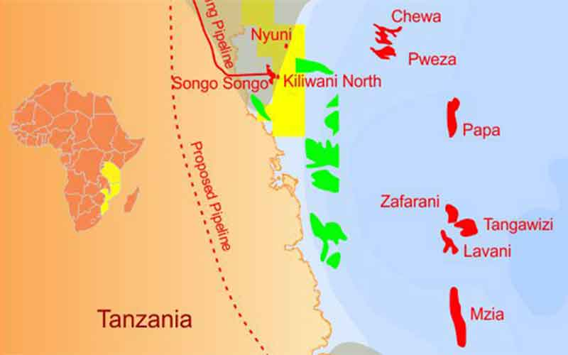 kiliwani gas Tanzania