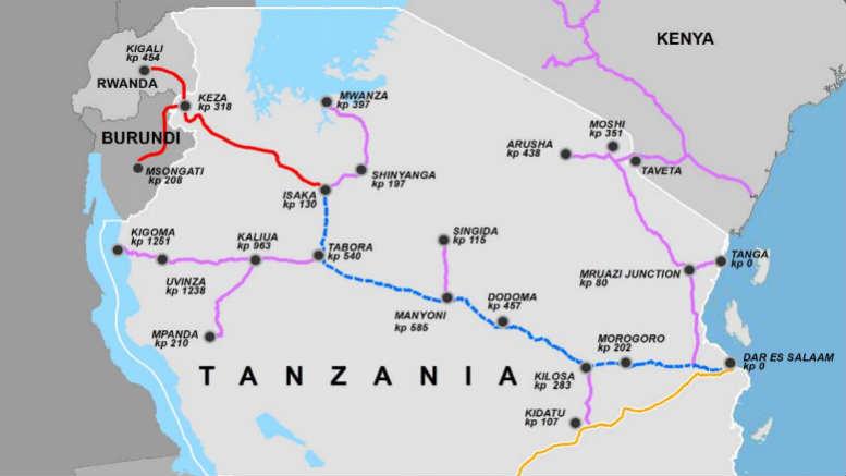 Rwanda Tanzania DIKKM Rail Link