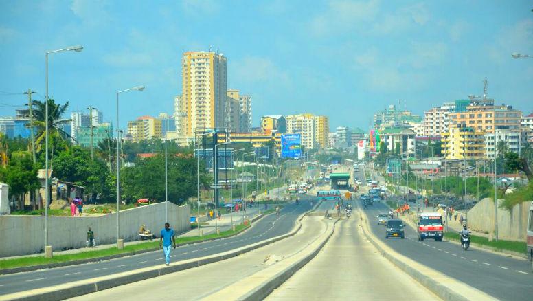 Tanzania construction dart dar rapid transit
