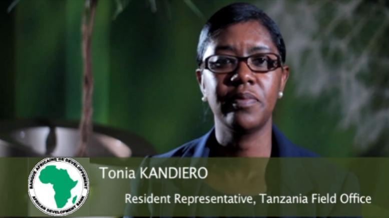 Tonia Kandiero AfDB interview tanzania
