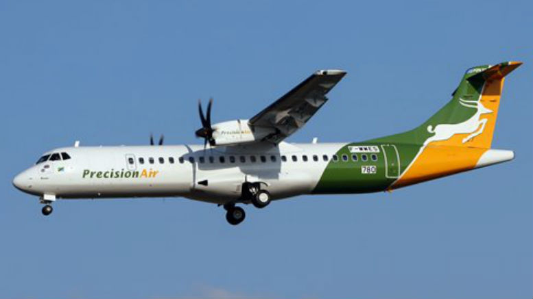 precision air new pemba route