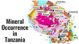 tanzania minerals occurence