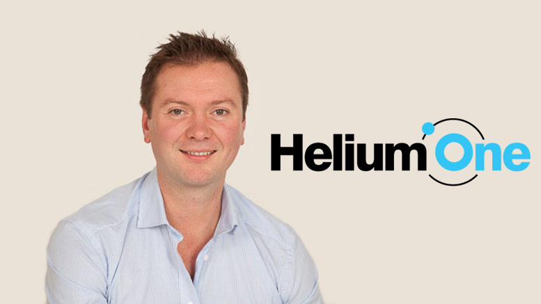 Helium One Tanzania CEO Thomas James