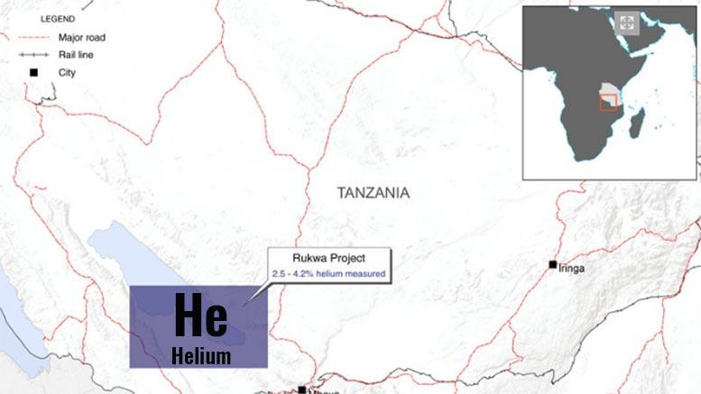 tanzania helium rukwa