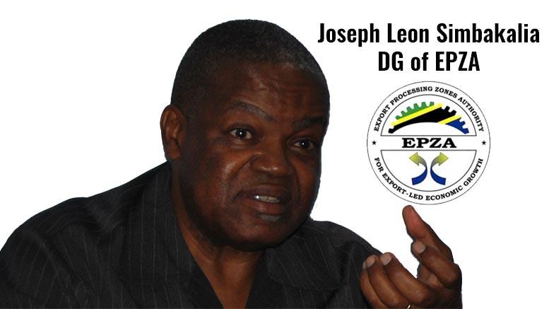 tanzania export processing zones authority joseph simbakalia