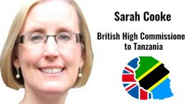 Sarah Cooke British High Commissioner Tanzania