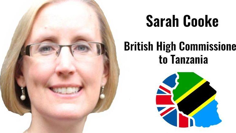 Sarah Cooke British High Commissioner Tanzania