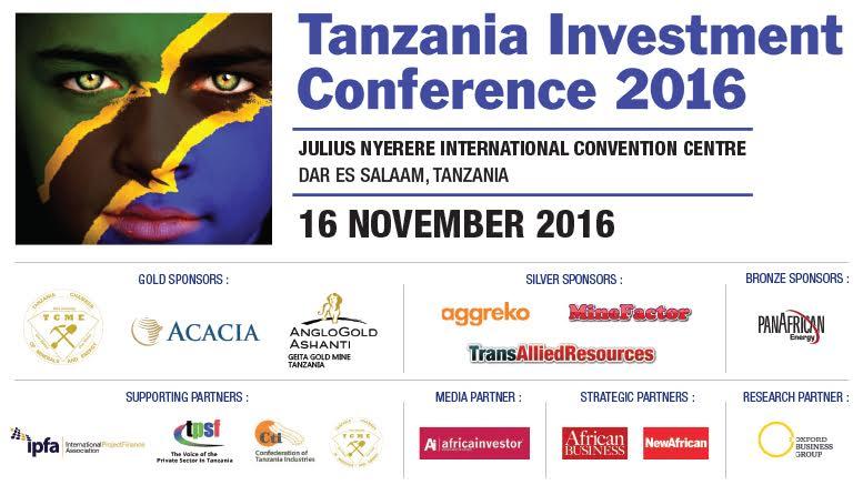 Tanzania investment forum 2016