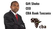 Gift Shoko CEO CBA Bank Tanzania