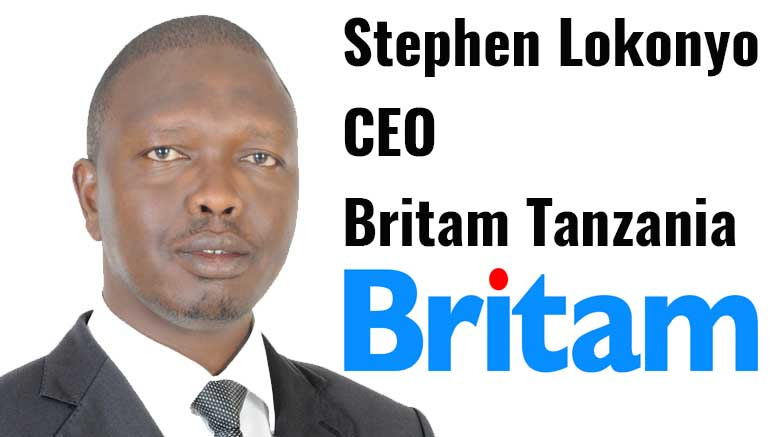 Stephen Lokonyo CEO Britam Insurance Tanzania