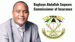Baghayo Abdallah Saqware Commissioner TIRA