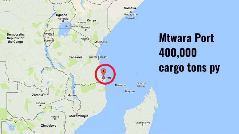 Mtwara Port Map