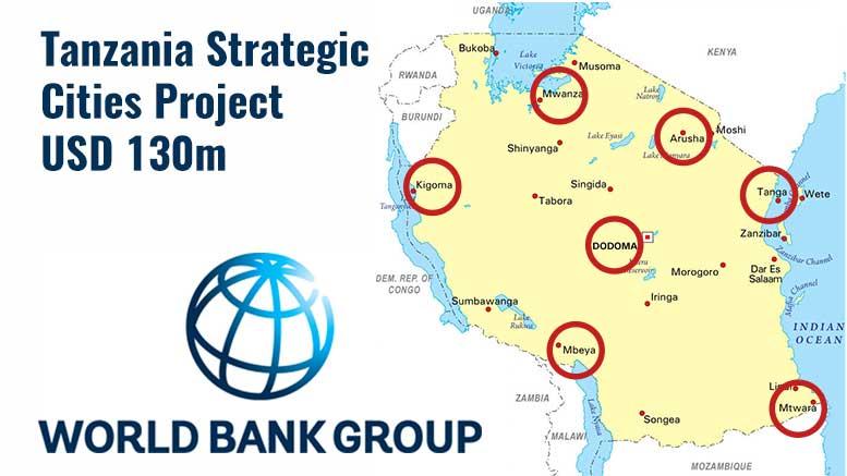 Tanzania Strategic Cities Project (TSCP) 2017 World Bank