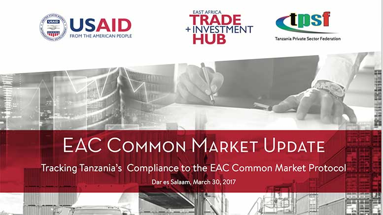 EAC Common Market Update Tanzania