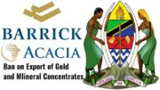 Barrick Gold Tanzania Mineral Ban