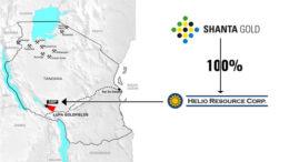 Shanta Gold Helio Resource Tanzania SMP