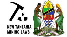 Tanzania new mining laws