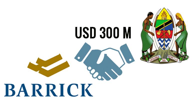 Barrick Gold tax deal Tanzania