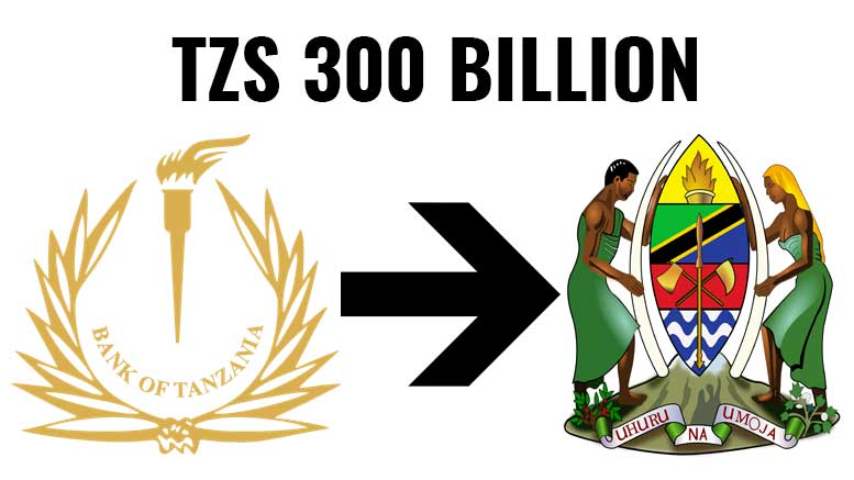 Bank Of Tanzania To Pay Tzs 300 Billion Dividend To Government