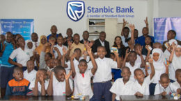 Stanbic Tanzania donates to Msasani School