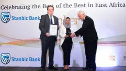 Stanbic Best SME Bank in Tanzania award