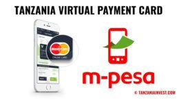 Tanzania virtual mastercard