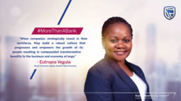 Eutropia Vegula Head Human-Capital Stanbic Bank Tanzania