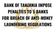 Tanzania banks anti money laundering regulations breach