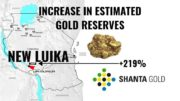 New Luika estimated gold reserves Q3 2019