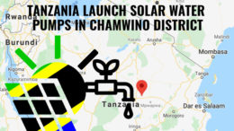 Tanzania solar water pumps Chamwino