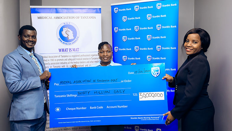 Stanbic Bank Medical Association Tanzania MAT Covid-19