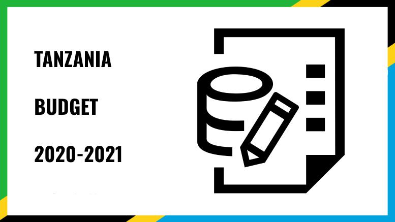 TANZANIA BUDGET 2020 2021