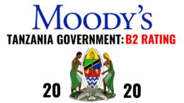 TANZANIA CREDIT RATING 2020 MOODYS B2