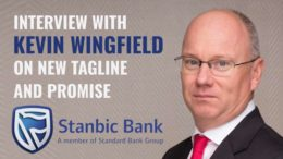 Stanbic Bank Tanzania Kevin Wingfield interview brand