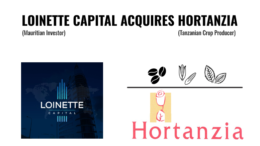 MAURITIUS LIONETTE ACQUISITION TANZANIA HORTANZIA AGRIBUSINESS