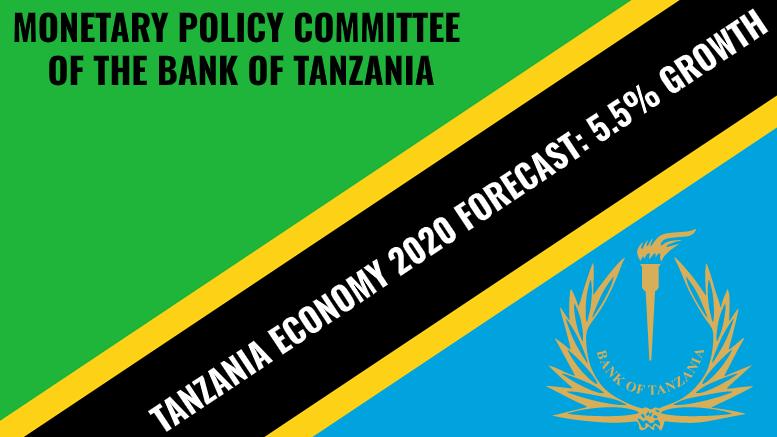 TANZANIA ECONOMY GDP 2020 GROWTH FORECAST