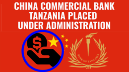 China Commercial Bank Tanzania Under BOT Administration
