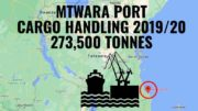 Mtwara port cargo handling 2020