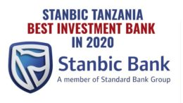 Stanbic Tanzania Best Investment Bank 2020