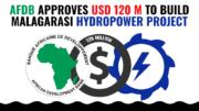 AfDB loan Malagarasi Hydropower Project Tanzania